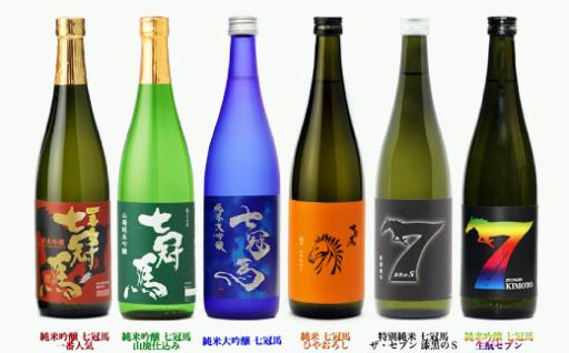 【新登場】日本酒「七冠馬」飲み比べセット