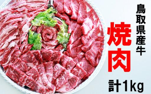 【受付開始】鳥取県産牛焼肉セット1kg