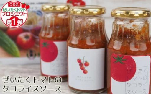 ぜいたくトマトのタコライスソース 250g×3本