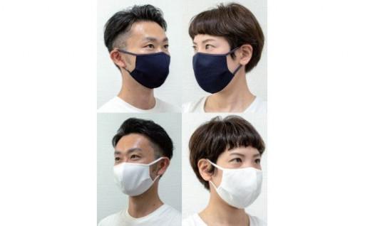 抗ウイルスフィルター入り接触冷感マスク