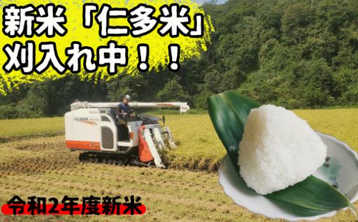 【新米】仁多米3kg×3回定期便
