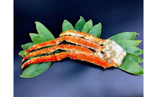 北海道広尾産のタラバガニをご自宅で
