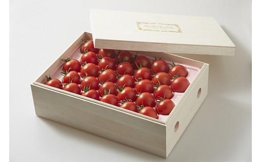 【ギフトにおすすめ! 桐箱入りのトマト】あま壱岐