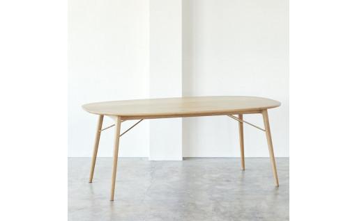 スーパー楕円の長く愛されるテーブル
