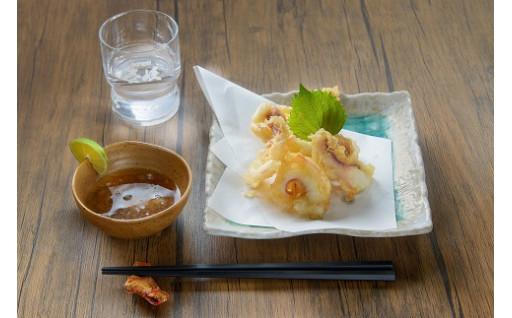 壱岐美食の季節の天ぷら・フライセット