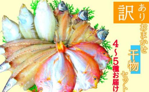 【訳アリ】魚の干物おまかせ詰合せセット
