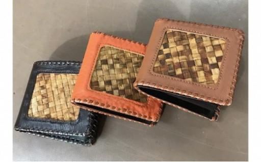 世界に1つだけ!りんご樹皮を使ったレザー財布