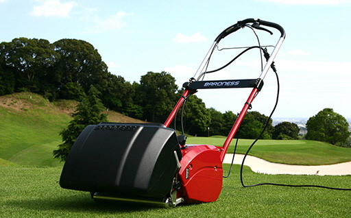 バロネスコード付き自走式芝刈り機 LM12MH
