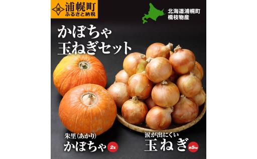【北海道浦幌町】かぼちゃとたまねぎのセット