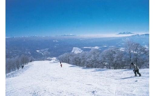 スキー場リフト券・シーズン券解禁のお知らせ