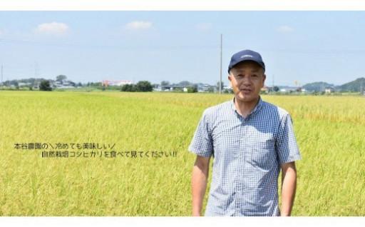 6ヶ月定期便 自然栽培農法で作ったコシヒカリ