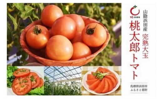 【甘み、うま味抜群!】桃太郎大玉トマト