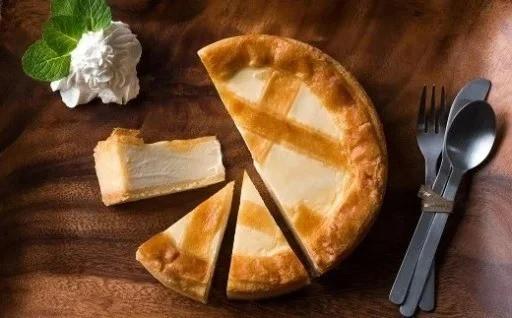 注文殺到!トロイカのチーズケーキ 5号サイズ