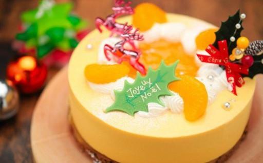 数量限定!みかんの本場のクリスマスケーキ!
