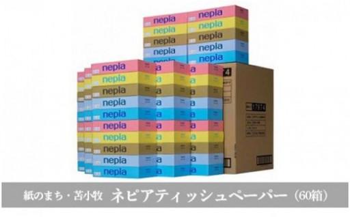 ネピアティッシュペーパー(60箱)