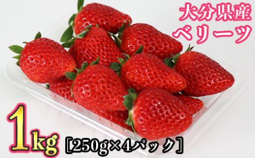 大分県オリジナル新品種『ベリーツ 1kg』