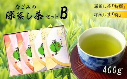 M2 なごみの深蒸し茶セットBコース