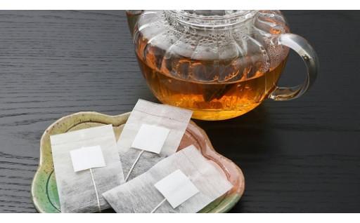 珍しい『つばき』のお茶。