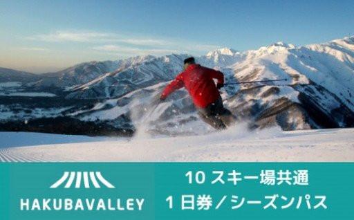 HAKUBA VALLEY 10スキー場共通券