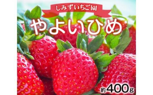 【群馬県産いちご「やよいひめ」約400g】
