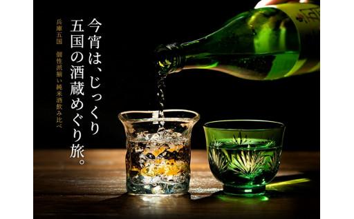 兵庫五国の純米酒セット(720ml×5本)