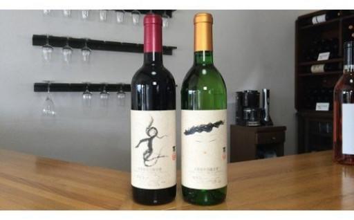 【山梨県産】楽園ワイン赤・白2本セット