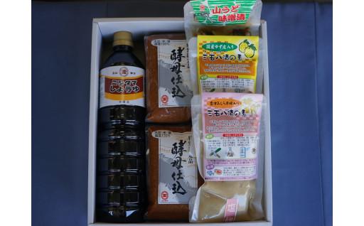 喜多方の味 味噌醤油漬物セット
