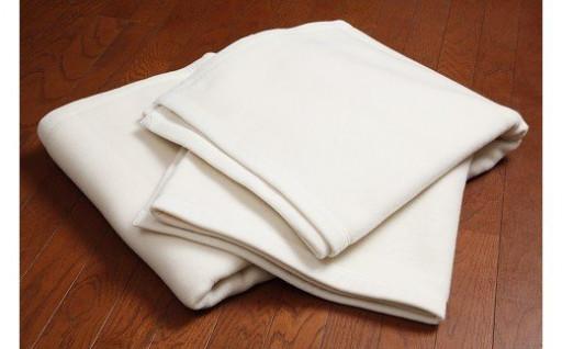 保温力に優れた「ウール毛布」