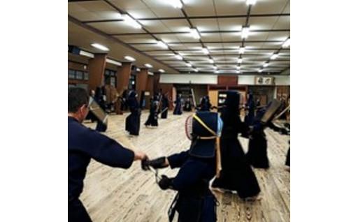 修武館で体験 剣道 6ヶ月間体験入館