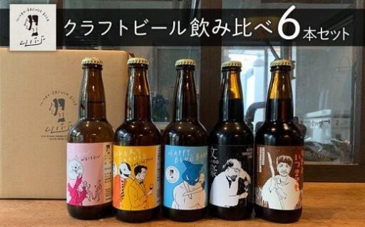 【クリフビール】クラフトビール飲み比べ6本セット