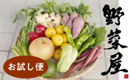 日曜市の野菜を味わうお試し便<新鮮野菜セット>