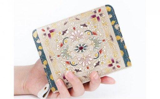 【文庫屋大関】ぐるっとファスナーのお財布