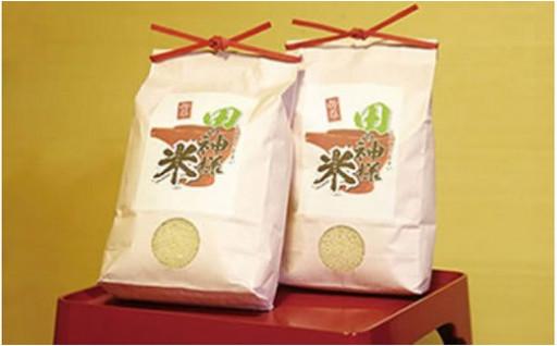 田の神様米(コシヒカリ)5kg×2袋