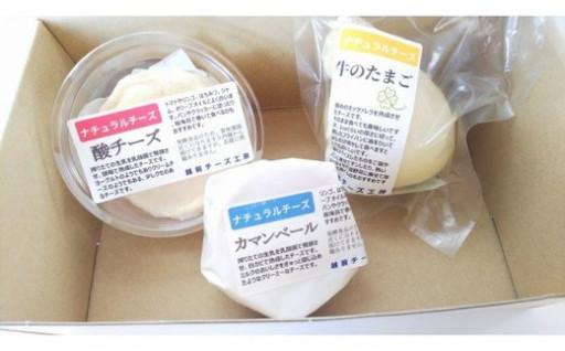 ナチュラルチーズ3種詰め合わせ