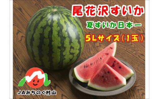 毎年リピーター多数の大玉『尾花沢すいか』!!