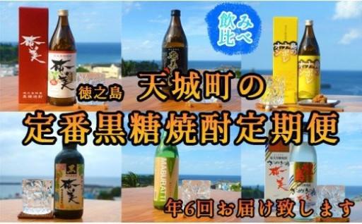 【定期便6回】徳之島 の定番 黒糖焼酎 焼酎