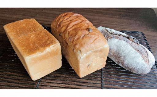 天然酵母の食パンとパン・ド・ヴァンセット