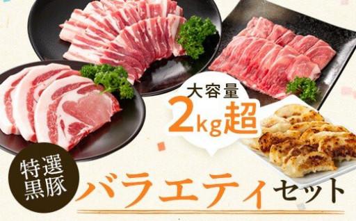 特選黒豚バラエティセット(約2.1kg)