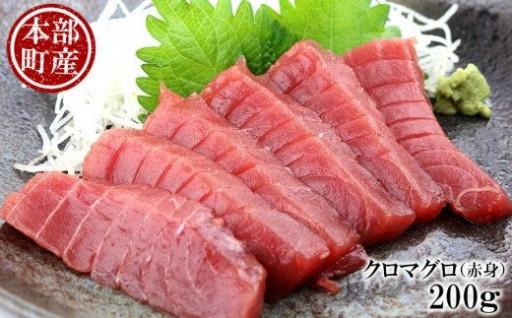 【本部町産】クロマグロ(赤身) 200g