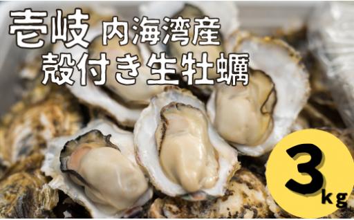 【受付終了間近!】殻付き生牡蠣3kg