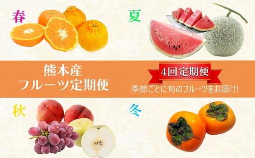 【定期便4回】季節のフルーツ 春夏秋冬プラン