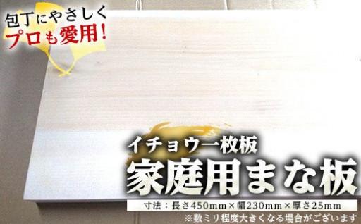 包丁にやさしくプロも使用する家庭用木製まな板!