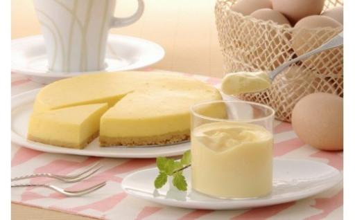 半熟なめらかプリン&クリームチーズケーキ