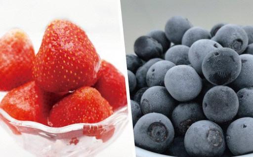 ヨーグルトやスムージーにおすすめの冷凍フルーツ♪
