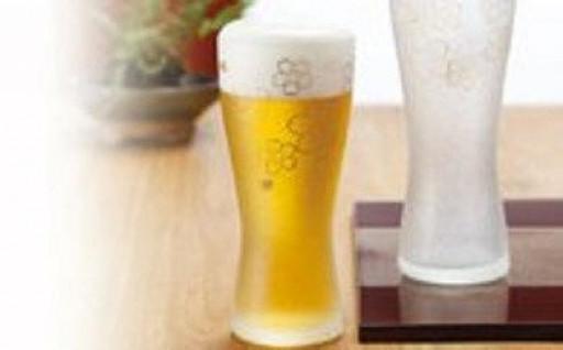 石塚硝子製ペアグラス (ビアグラス415ml)