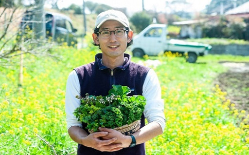 食卓に感動を。ながはら農園の春野菜セット