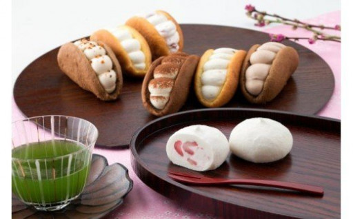 -菓風- オムレット&北国のいちご大福詰合セット