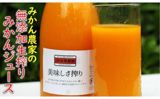 果汁100%濃厚みかんジュース4本セット