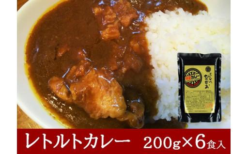 特選レトルトカレー 6食セット(国産豚肉使用)