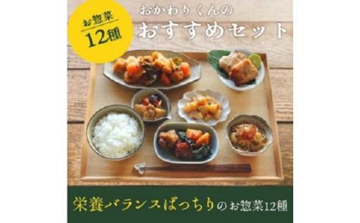 お惣菜おかわりの無添加のお惣菜セット/12種類